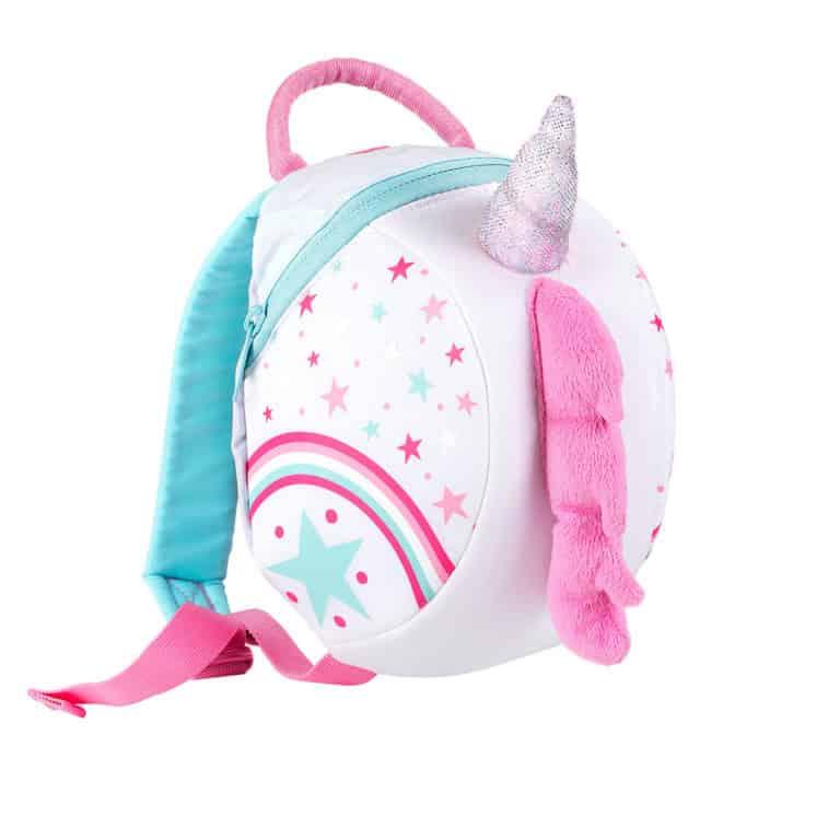LittleLife gyerek hátizsák pórázzal – egyszarvú