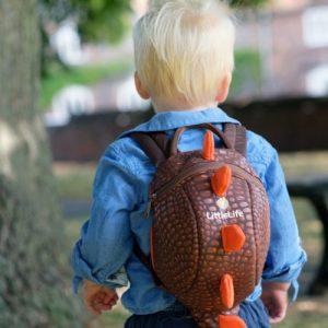 LittleLife gyerek hátizsák pórázzal – dino