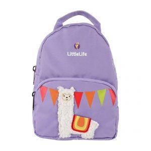 LittleLife gyerek hátizsák pórázzal – láma 3D
