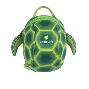 LittleLife gyerek hátizsák pórázzal – teknős