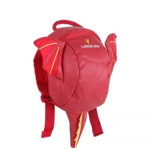 LittleLife gyerek hátizsák pórázzal – sárkány