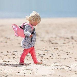 LittleLife gyerek hátizsák pórázzal – pillangó