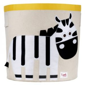 Játéktároló, zebra | 3 Sprouts