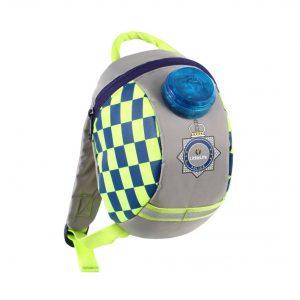 LittleLife gyerek hátizsák pórázzal – rendőr