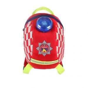 LittleLife gyerek hátizsák pórázzal – tűzoltó