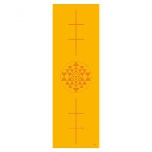 Leela jógaszőnyeg – BODHI – SÁRGA – YANTRA